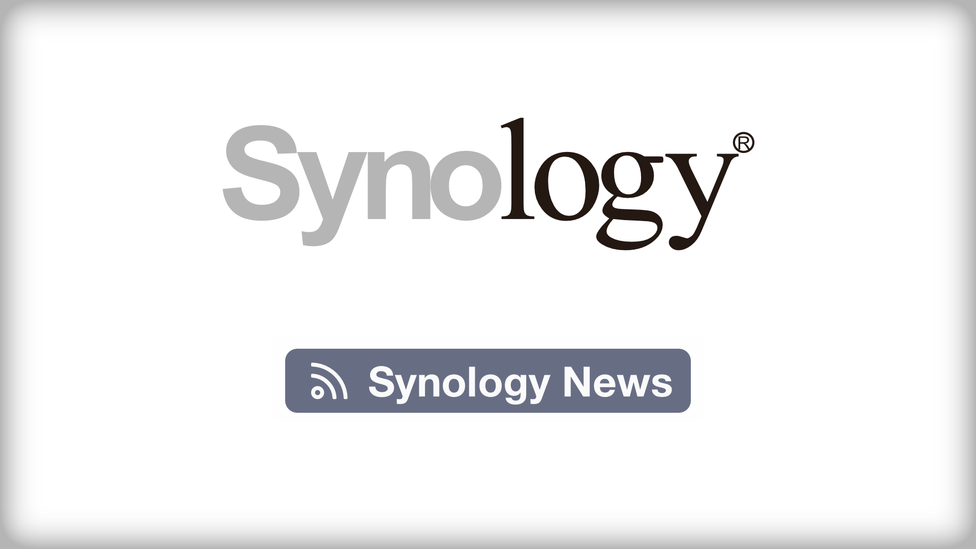 Synology News RSS
