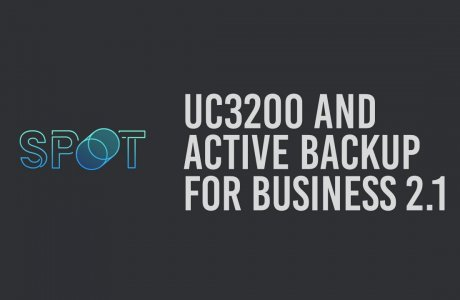 UC3200 and Active Backup for Business 2.1 | Synology