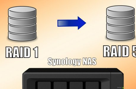 Synology NAS - Migrating from RAID 1 to RAID 5