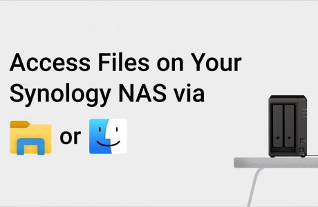 Access Files on Your Synology NAS via Windows File Explorer or Mac Finder | Synology